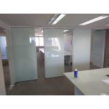 divisória vidro com persiana embutida Itaim Paulista